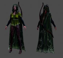 File:Rigged-textured-elven-archer.jpg