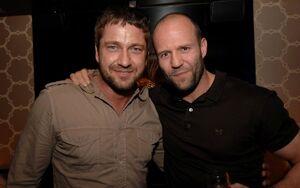 Gerard Butler and Jason Statham
