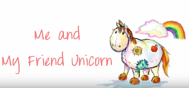 File:Me and my friend unicorn.png