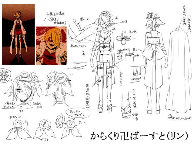 File:Concept art Karakuri Burst Rin.jpg