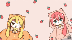"""Image of """"ニコネコニャンコチョコストロベリー (Niko Neko Nyanko Choco Strawberry)"""""""