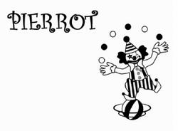 KEI ft. Hatsune Miku-Pierrot Title Card