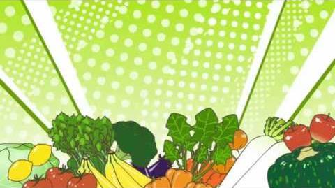 Po pi po ~ Miku Hatsune Vegetable Juice Dance (HQ, English subtitles, Download)