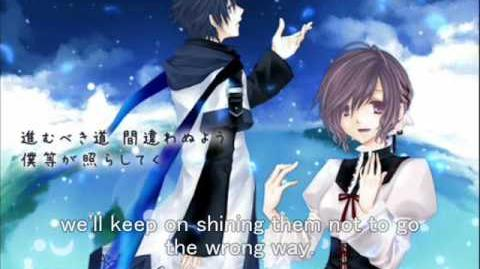 【MEIKO・KAITO】Rinascita~始まりの謳~ english & romaji subbed Song of Beginning