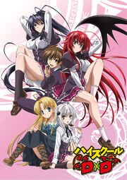 High School DxD DVD Cover