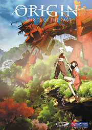 Origin Spirits of the Past DVD Cover