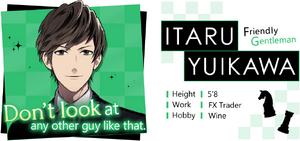 Itaru Yuikawa Profile