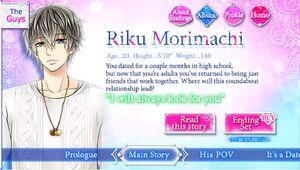 Riku Morimachi info