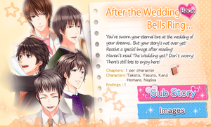 After the Wedding Bells Ring…