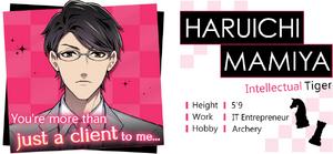 Haruichi Mamiya Profile