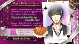 Happy Birthday Mamoru