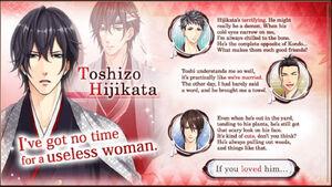 Toshizo Hijikata - Profile