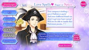 Love Spells ♥ Sugar or Spice 2 - infobox