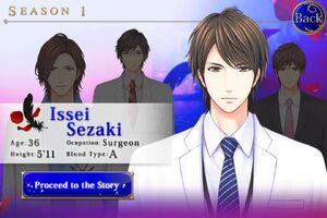 Issei Sezaki - Profile