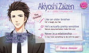 Akiyoshi profile