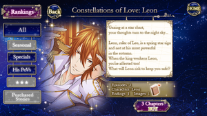Constellations of Love - Leon