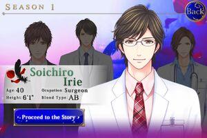 Soichiro Irie - Profile