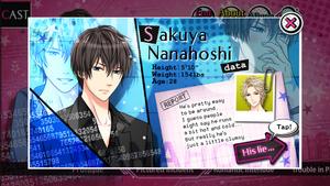 Sakuya Nanahoshi - Profile
