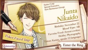 Junta Nikaido - Profile