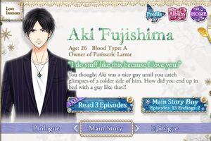 Aki Fujishima - Profile