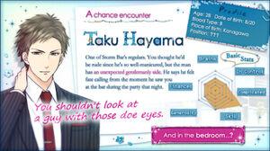 Taku Hayama - Profile