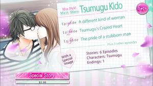 Tsumugu Kido - Main Story PoV