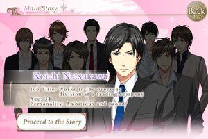 Koichi Natsukawa - Profile