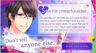 Shinichi Kagari-His Cheerful Side