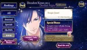 Decadent Kisses on a Devilish Night-Punishment infobox