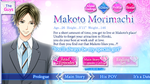 Makoto Morimachi - Profile