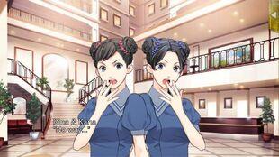 Rina and Kana