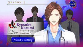 Kyosuke Narumi character description (1)