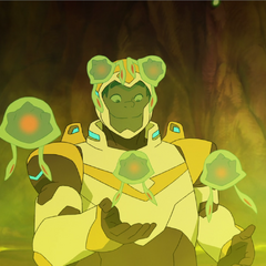 Hunk and the bacteria.