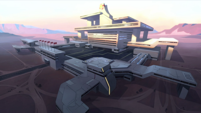 File:29. Galaxy Garrison training base by sunrise.png
