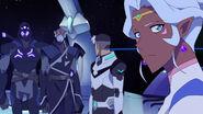 Kolivan, Antok, Shiro and Allura