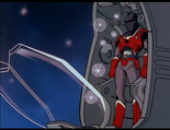 Ep.37.98 - Reggar stepping out of Beastman control pod