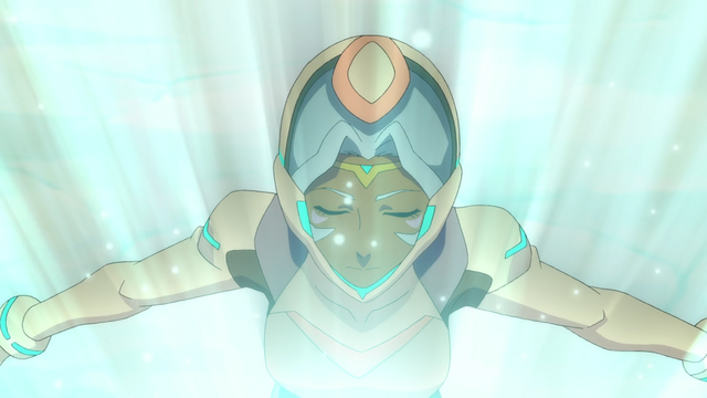 File:102. Allura in Castle crystal's beam.png