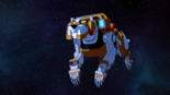 S2E09.72. Yellow lion cruising thru space