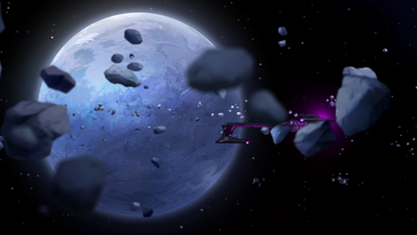 83b. Blue Lion flees Galra ship past Kerberos