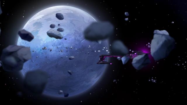 File:83b. Blue Lion flees Galra ship past Kerberos.png