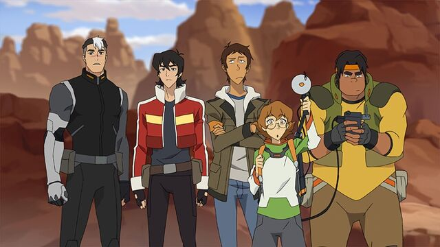 File:Shiro, Keith, Lance, Pidge & Hunk.jpg