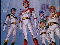 Screen-the team in uniform