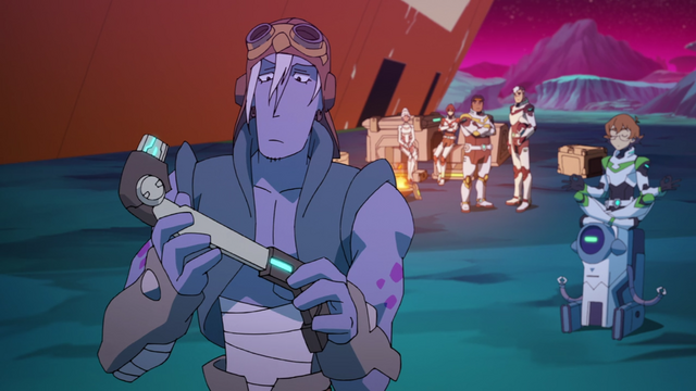 File:102. Rolo going thru parts 2, with Pidge meditating on Beezer.png