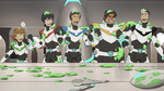 75. Team Voltron covered in food goo