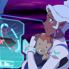 Just…stare at baby!Coran until it hits you.
