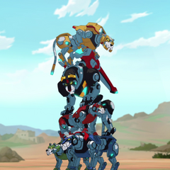 Lion stacking 101. Lance: A. Pidge: B. Keith: A. Shiro: A. Hunk: F!