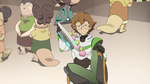 31. Pidge scoring food