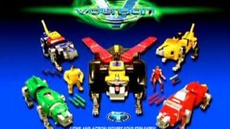 TRENDMASTERS Voltron Third Dimension Lion Force TV Commerical