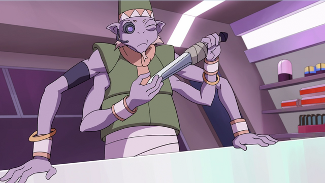 File:S2E07.116. Knife salesman examining Keith's blade.png