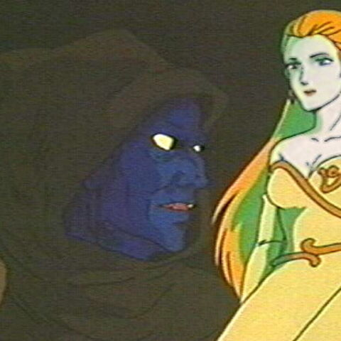 Haggar confronting her past.